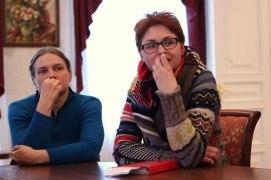 Открытые дискуссии с участниками фестиваля Фото: Наталья Бурлева