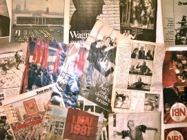 """Инсталляция-коллаж """"Берлинская стена времени"""" Автор: Андрей Захаров"""