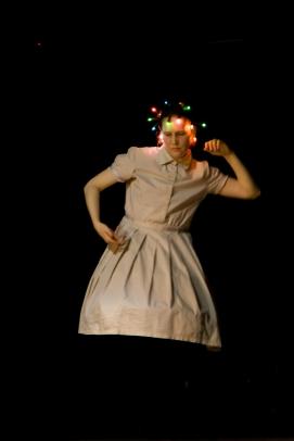 """Моноспектакль Екатерины Жариновой """"Демоскоп"""" Фото: Мария Шевченко"""