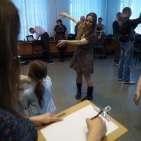 """Лаборатория Настасьи Худяковой """"Рисунок и движение"""" Фото: Руслан Хисамутдинов"""