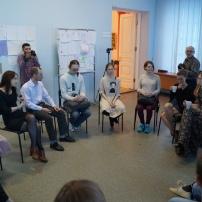 Дискуссия под началом Ольги Конаковой Фото: Руслан Хисамутдинов
