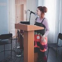 Лаборатория «Звук и движение». Фото: Анастасия Юмина. На фото: Аглая Соловьева
