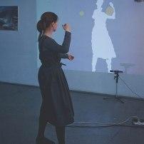 Лаборатория «Звук и движение». Фото: Анастасия Юмина. На фото: Екатерина Жаринова